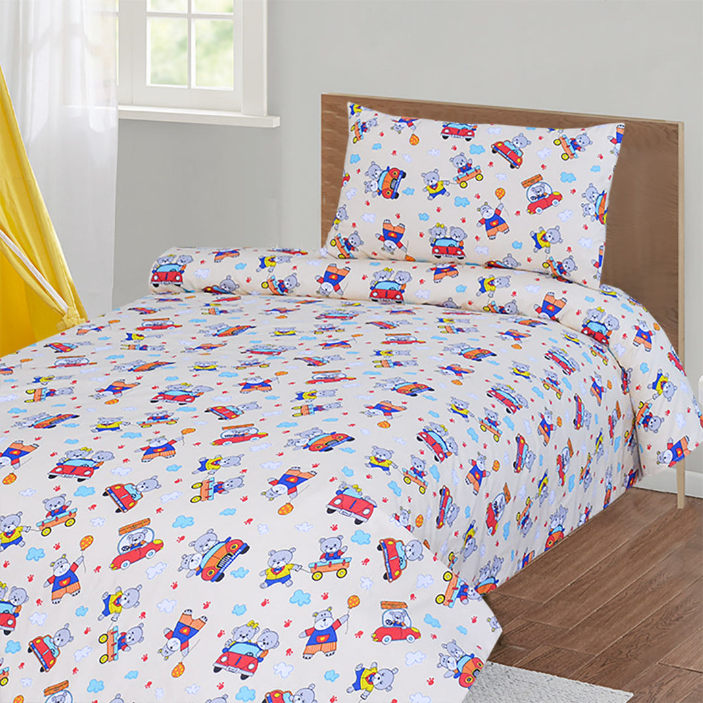 Printed Single Bed Sheet PSB-006