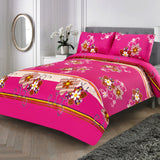 3 Pcs Printed Bed Sheet NB-00344