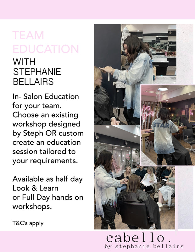 TEAM EDUCATION with STEPHANIE BELLAIRS