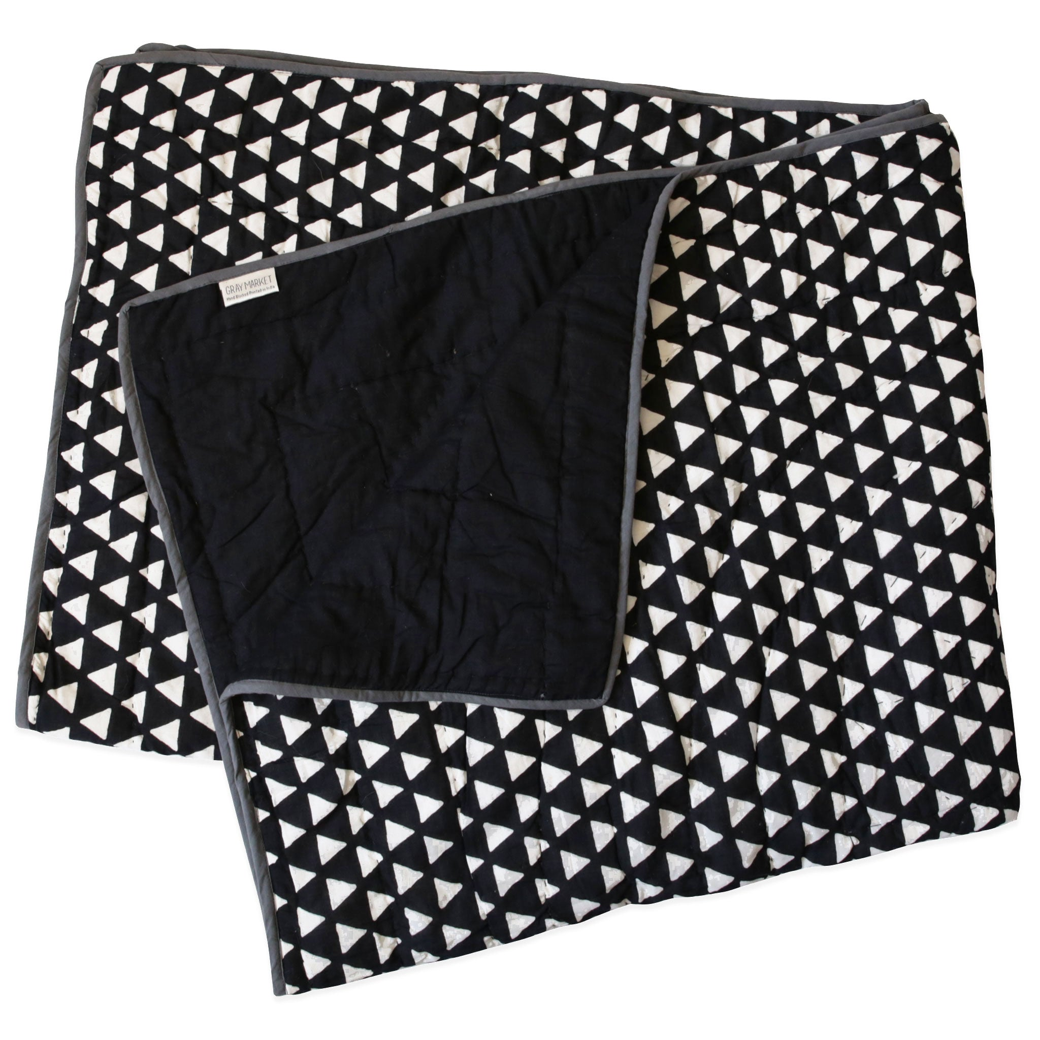 Kamana Black Little Quilt