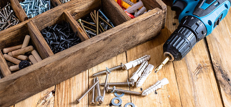 Fasteners and Drill
