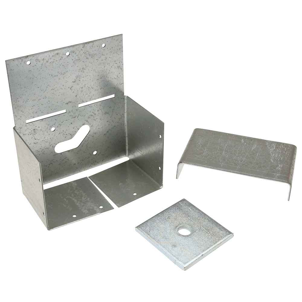 Simpson Strong-tie 4x6 ZMAX Adj Post Base ABW46Z for sale online