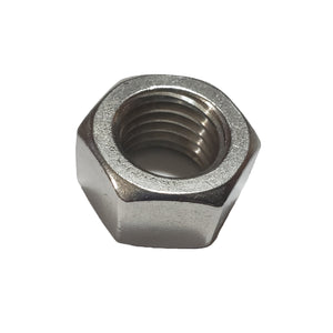 1 inch8 Hex Nut 316 Stainless Steel