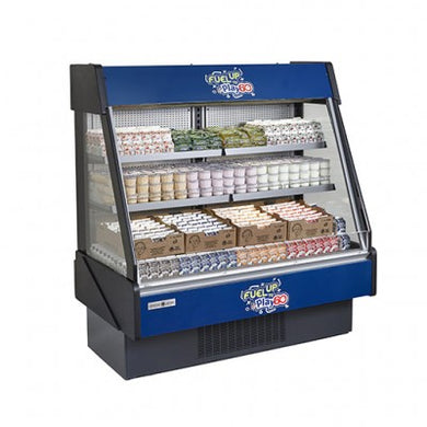 Hydra-Kool Fresh Grab and Go Low Profile with rear loading and electric front shutter KGL-RS-40-S