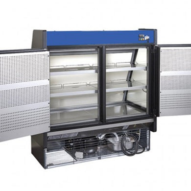 Hydra-Kool Fresh Grab and Go Low Profile with rear loading and electric front shutter KGL-RS-60-S