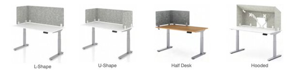 AMQ 3f privacy and acoustic panels customizable by Phil Zen