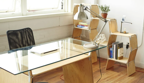Modos smart home office furniture by PhiZen