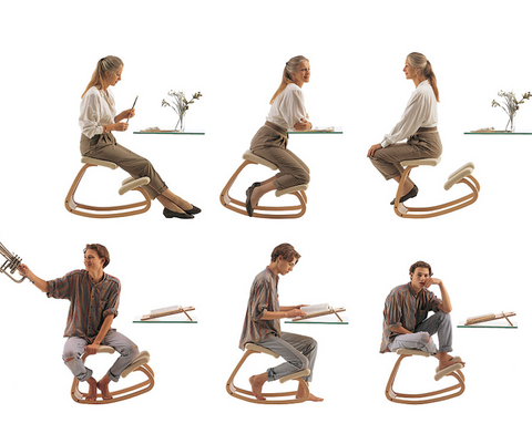 Keep moving for healthy sitting Varier Variable by Phil Zen