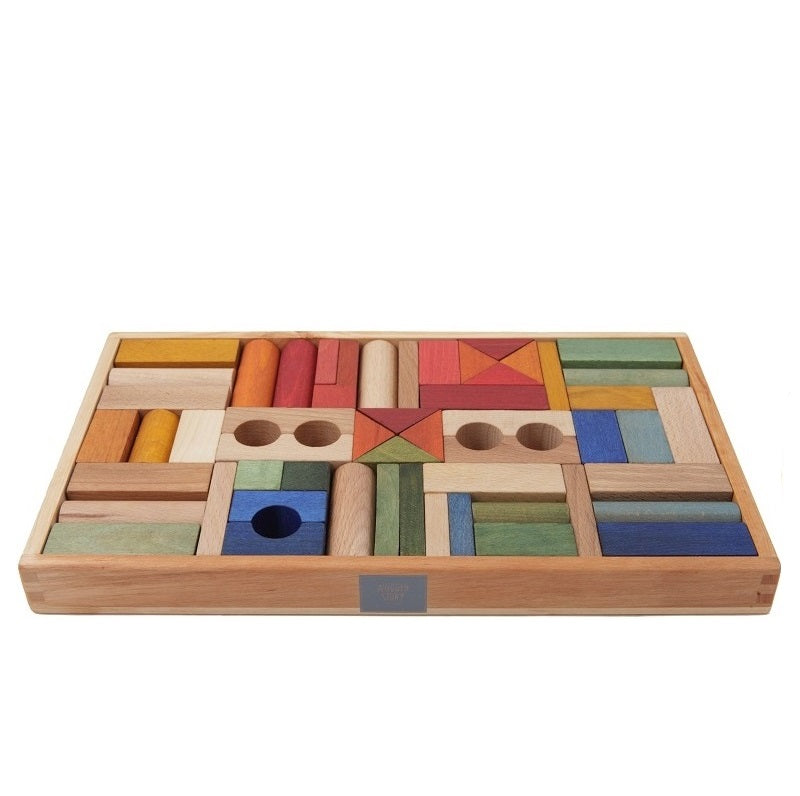 Rainbow Blocks – 54 Pieces