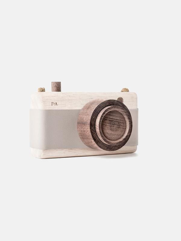 Wooden Camera – Grey Lilac - thetinycrate