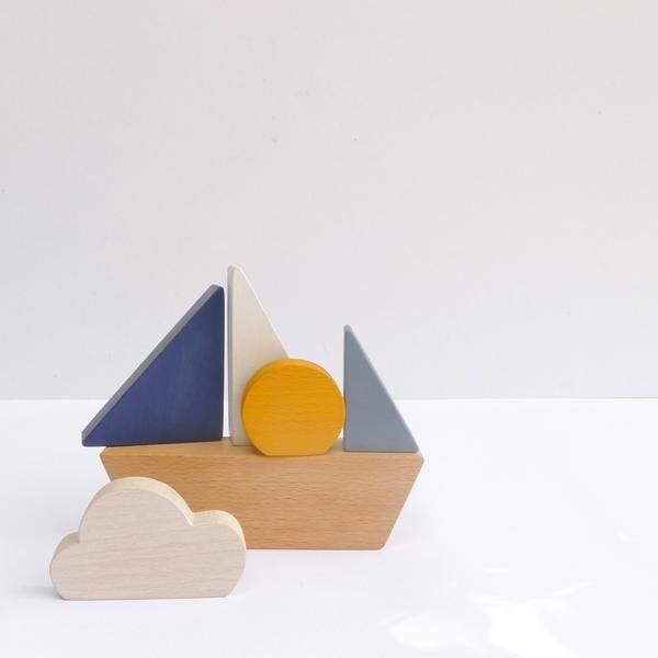 Stacking Boat (PRE-ORDER ARRIVING END OF AUGUST) - thetinycrate