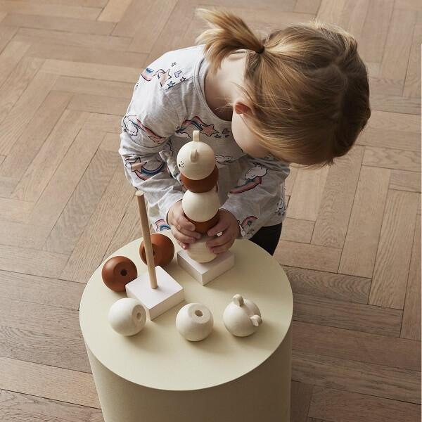 Wooden Stacking Lala (Pre-order arriving late August) - thetinycrate
