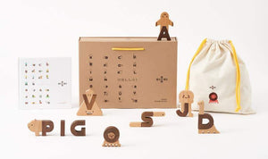 Alphabet Block Set - thetinycrate