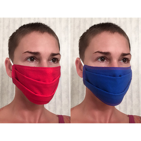 Pleated Face Mask