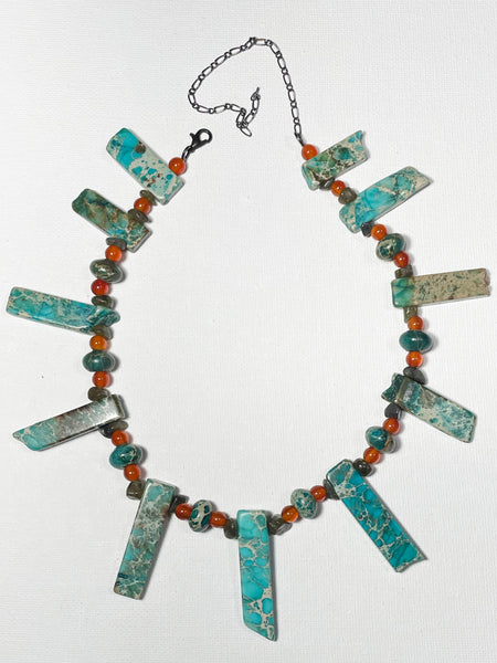 Necklace- Emperial Jasper