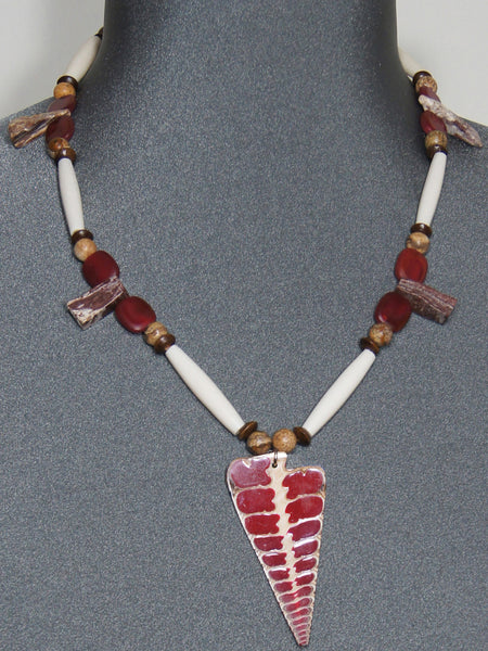 Necklace- Red Shell