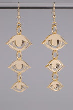 Load image into Gallery viewer, Small Eyes Earrings - Champagne