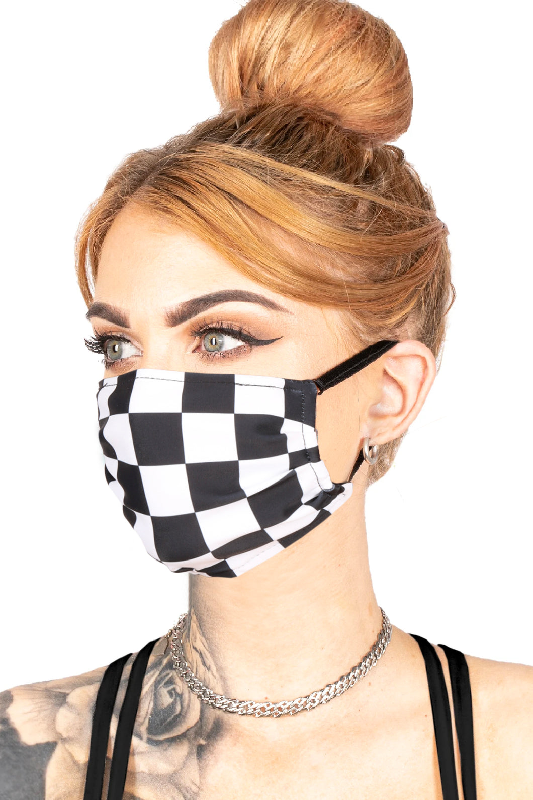 FACE MASK - CHECKER
