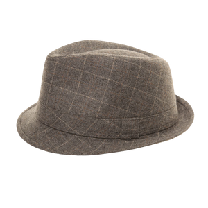Grey Trilby Hat - Scattee