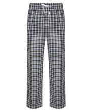 Load image into Gallery viewer, White Multi Check Lounge Pants