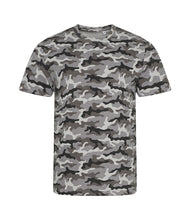Load image into Gallery viewer, Camo performance T-Shirt Platinum - Scattee