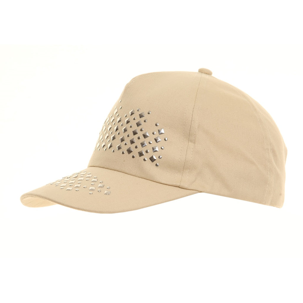 Studded Baseball Cap Stone - Scattee