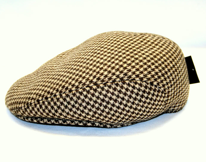 Traditional Flat Cap Brown