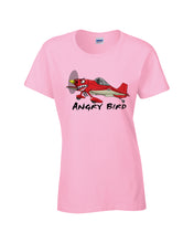 Load image into Gallery viewer, Angry Bird Ladies Aerobatic Flying T-Shirt