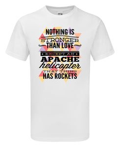 Apache Helicopter T-Shirt - Scattee