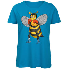 Load image into Gallery viewer, Manchester Boxing Bee Ladies T-Shirt
