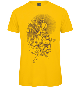Gothic Angel Hand Drawn T Shirt - Scattee