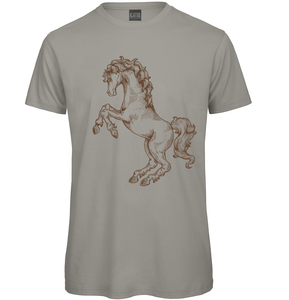 Gothic Horse Hand drawn T-Shirt - Scattee