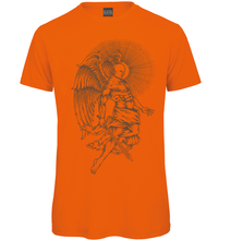 Load image into Gallery viewer, Gothic Angel Hand Drawn T Shirt - Scattee
