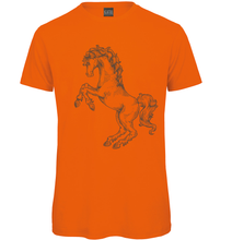 Load image into Gallery viewer, Gothic Horse Hand drawn T-Shirt - Scattee