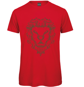 Gothic Lion Hand drawn T-Shirt - Scattee