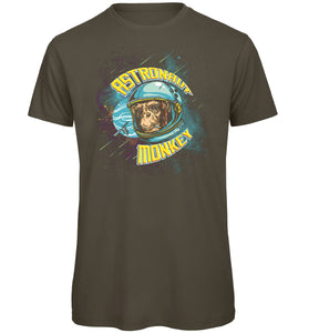 Astronaut Monkey T-Shirt - Scattee