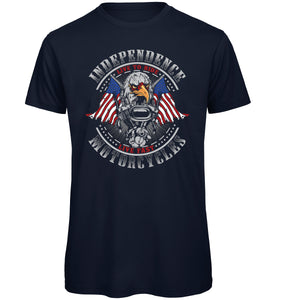 Independence Motorcycles Biker T-Shirt