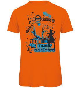 Addicted to Music Retro T-Shirt - Scattee