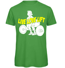 Load image into Gallery viewer, Live Love Lift Gym T-Shirt