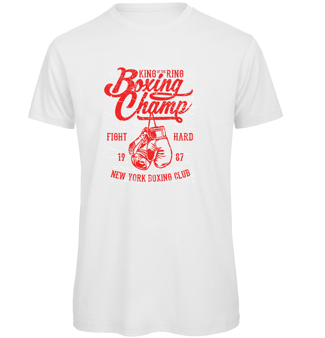 New York Boxing Champ T Shirt - Scattee