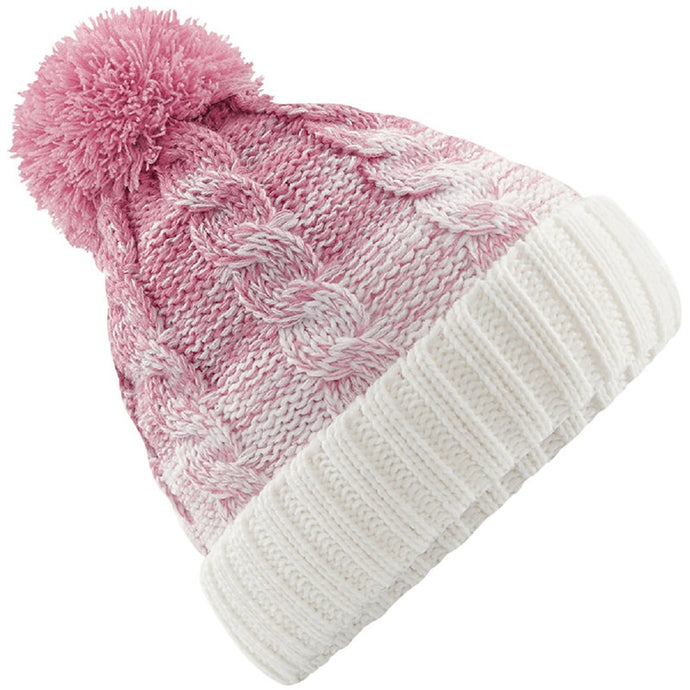 Ombré Beanie Dusky Pink - Scattee