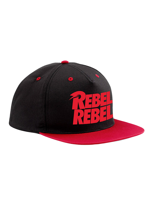 David Bowie Rebel Rebel Snapback Cap - Scattee