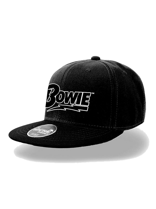 David Bowie Logo Snapback Cap genuine Trademark product - Scattee