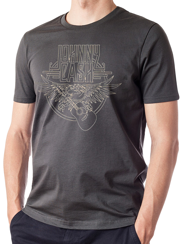 Johnny Cash Eagle T-Shirt - Scattee