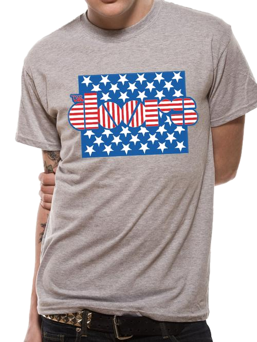 The Doors Stars & Stripes T-Shirt - Scattee
