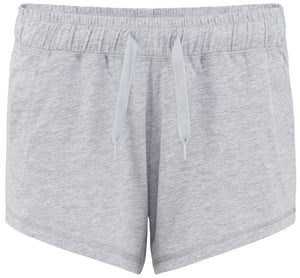 Comfortable Lounge Shorts Heather Grey