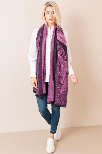 Cecilia Scarf Purple - Scattee