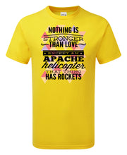 Load image into Gallery viewer, Apache Helicopter T-Shirt - Scattee