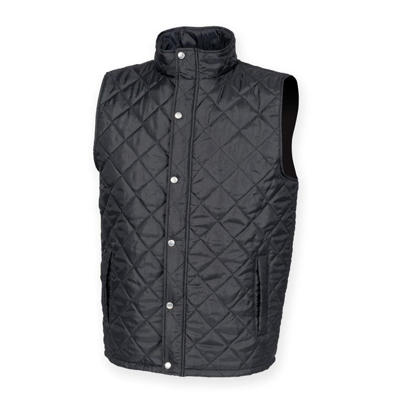 Diamond Quilted Gilet - Scattee