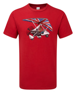 Flexwing Microlight Cartoon T-Shirt - Scattee